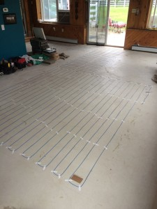 Flooring heat