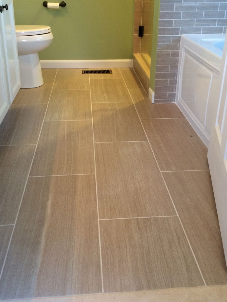 Tile and Hardwood Floor Installation - Harlan Custom Contracting