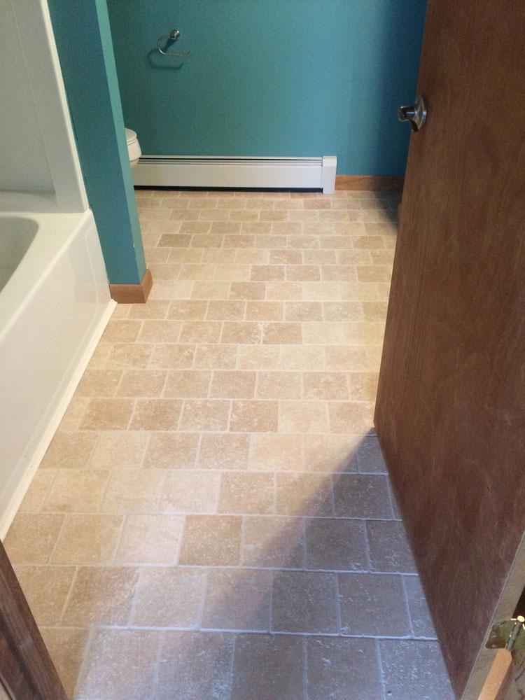 Tile And Hardwood Floor Installation Harlan Custom Contracting - Estimate for tile floor installation